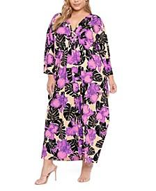 Plus Size Tina Kaftan Dress