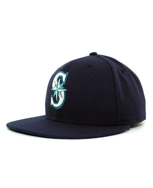 e8cc822a5cf Seattle Mariners MLB Authentic Collection 59FIFTY Fitted Cap. Be the first  to Write a Review.  25.99. Buy 1