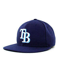 New Era Tampa Bay Rays MLB Authentic Collection 59FIFTY Fitted Cap
