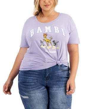 Plus Trendy Bambi Graphic T-Shirt