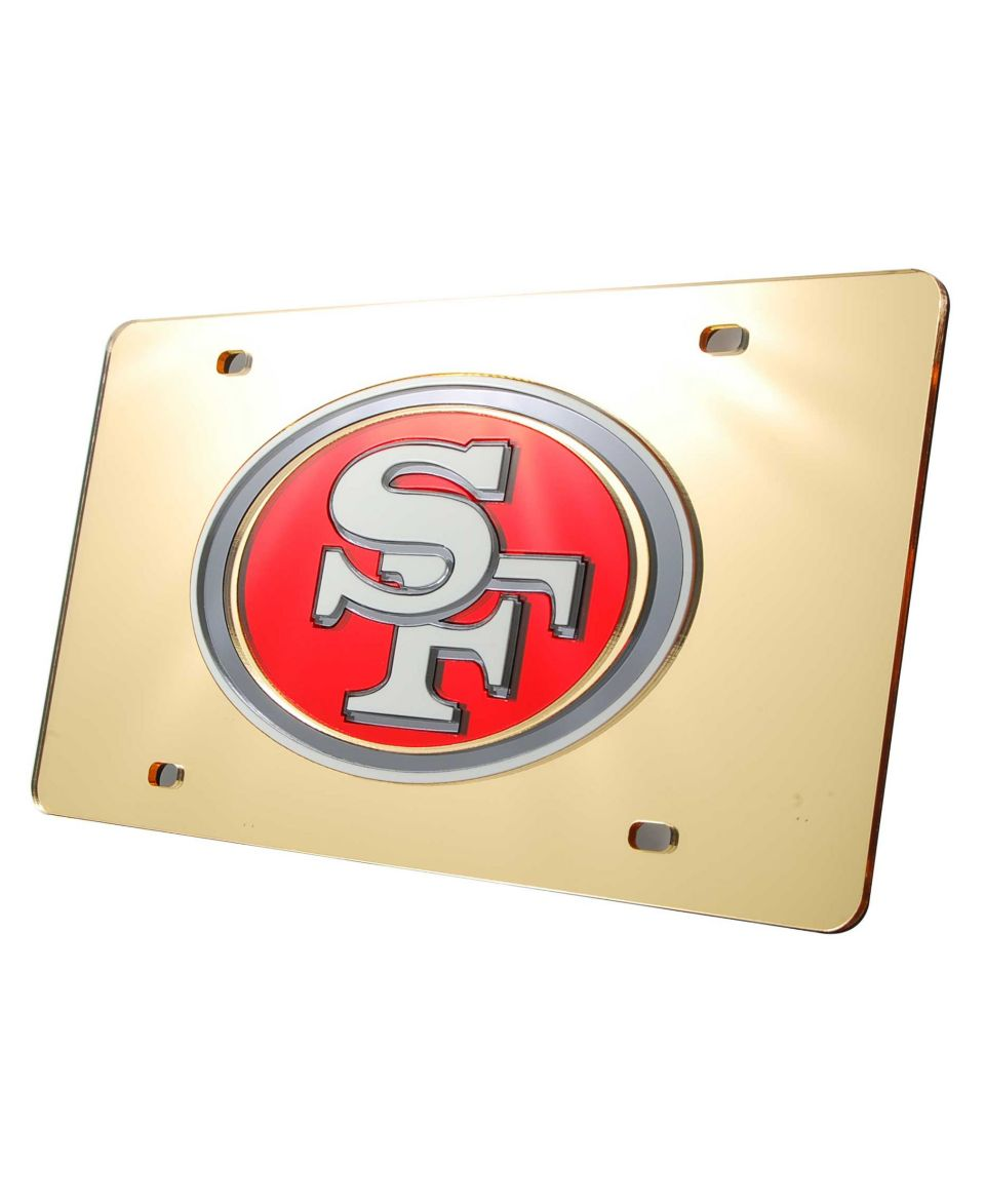 Rico Industries San Francisco 49ers License Plate   Sports Fan Shop By