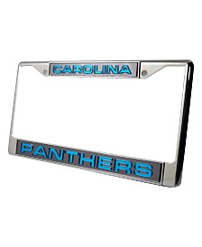 Rico Industries Carolina Panthers License Plate Frame