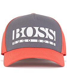 BOSS Men's Color-Block Logo Cap