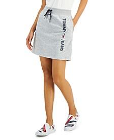 Knit Logo Mini Skirt