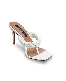 Women's Bella Braided Thong Sandals