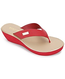 Women's Fine Glass Thong Sandal