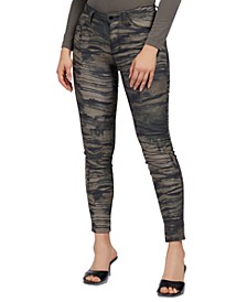Sexy Curve Printed Skinny Jeans