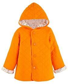 Baby Boys Dino Quilted Jacket, Created for Macy's