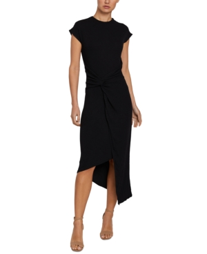 Twisted Asymmetrical Bodycon Dress