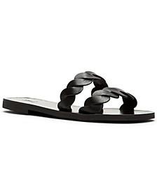 Women's Azalea Braid Slide Sandals
