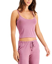 Super Soft Cropped Loungewear Tank Top, Created for Macy's