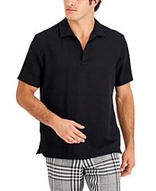 Men's Popover Polo, Created for Macy's