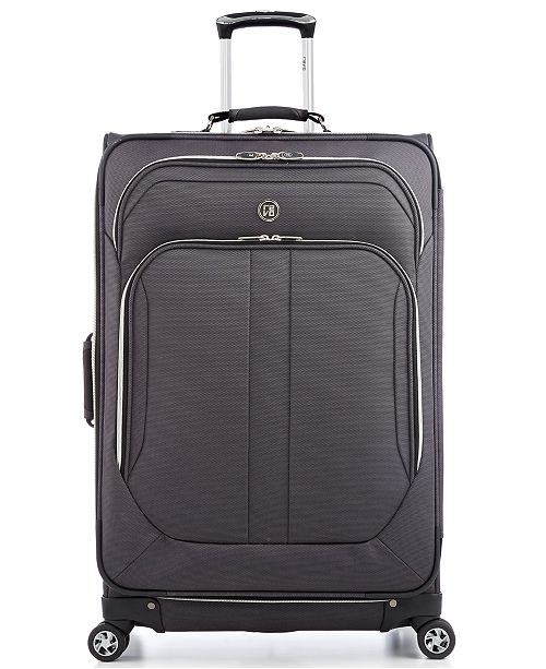 """Revo CLOSEOUT! 60% Off Twist 29"""" Expandable Spinner Suitcase, Created for Macy's"""