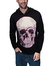 Men's Skull Rhinestone Hoodie