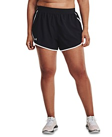 Plus Size UA Fly By 2.0 Shorts