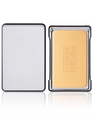 Clinique For Men Oil Control Face Soap with Dish, 5.2 oz