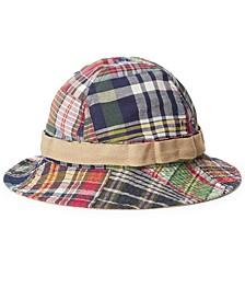 Men's Patchwork Madras Bucket Hat