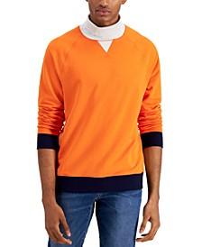 Men's Turtleneck Fleece Sweatshirt, Created for Macy's