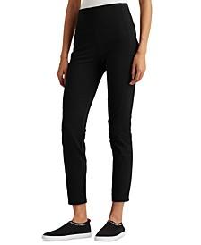 Petite Cotton-Blend Skinny Pants