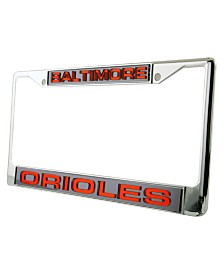 Rico Industries Baltimore Orioles Laser License Plate Frame