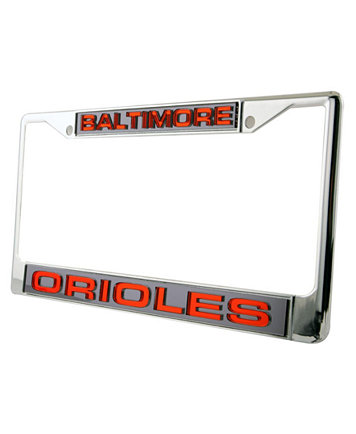 baltimore orioles laser license plate frame - Mermaid License Plate Frame