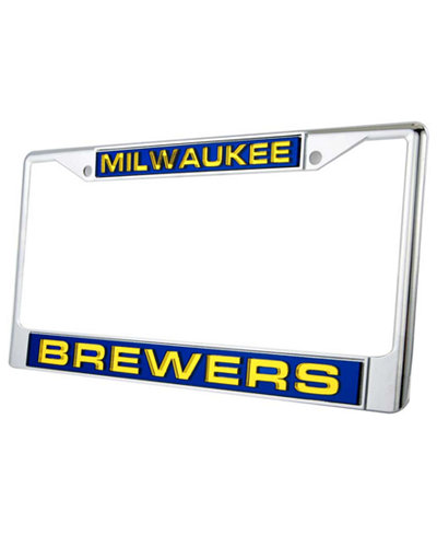 Rico Industries Milwaukee Brewers Laser License Plate Frame