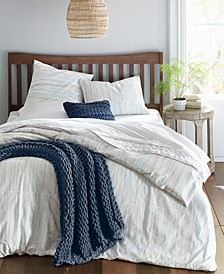 Printed Beaded Stitch Comforter Sets, Created for Macy's