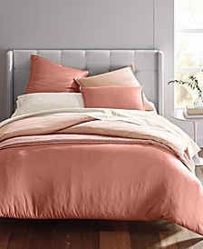 Cotton Tencel Blend Reversible Comforter Sets, Created for Macy's