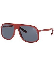 Men's Sunglasses, RB4308M 58 SCUDERIA FERRARI COLLECTION