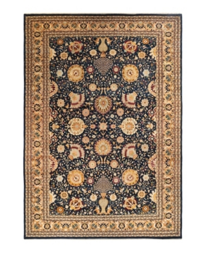 """Adorn Hand Woven Rugs Mogul M1130 11'10"""" X 17'8"""" Area Rug In Navy"""