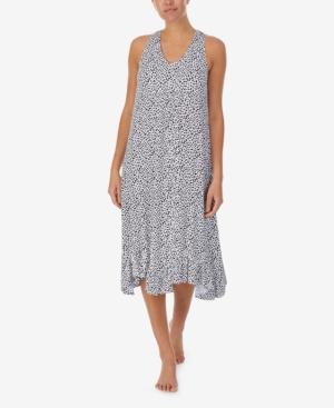 Women's Sleeveless Soft Bra Midi Gown with Satin Pillowcase