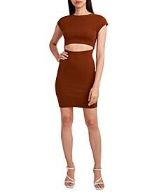 Knit Sleeveless Cutout Dress