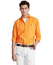 Men's Classic-Fit Garment-Dyed Oxford Shirt