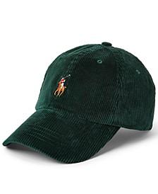 Men's Corduroy Ball Cap