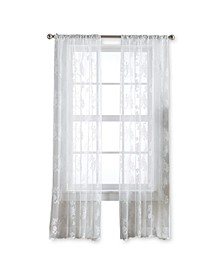 "Sibella Lace 84"" x 40"" Pole Top Panel, Set of 2"