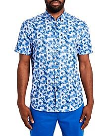 Men's Paisley Short Sleeve Shirt
