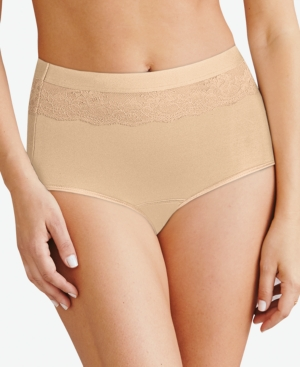 Women's Beautifully Confident Brief Period Underwear With Leak Protection DFLLB1