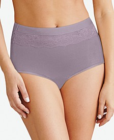 Women's Beautifully Confident Brief Period Underwear With Light Leak Protection DFLLB1