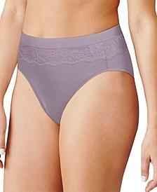 Women's Light Leak Protection Hi-Cut Brief Period Underwear DFLLH1