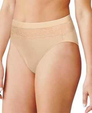 Women's Leak Protection Hi-Cut Brief Period Underwear DFLLH1