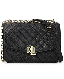 Madison Plaid Quilted Leather Crossbody Bag