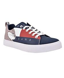 Men's Bunny Space Jam 2 Lace Up Canvas Sneaker