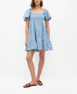 Women's Frill Cotton Dress