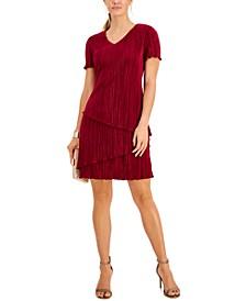 Petite Jacquard Sheath Dress