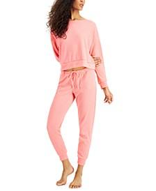 Waffle Knit Pajama Set, Created for Macy's