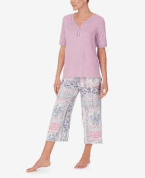 Women's Patchwork Pajama Set
