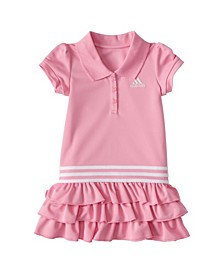 Baby Girls Short Sleeves Polo Dress