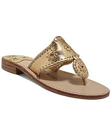 Classic Navajo Flat Thong Sandals