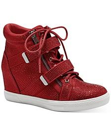 Women's Debby Wedge Sneakers, Created for Macy's