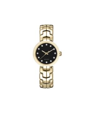 American Exchange Women's Metal Diamond Gold-Tone Stainless Steel Analog Watch